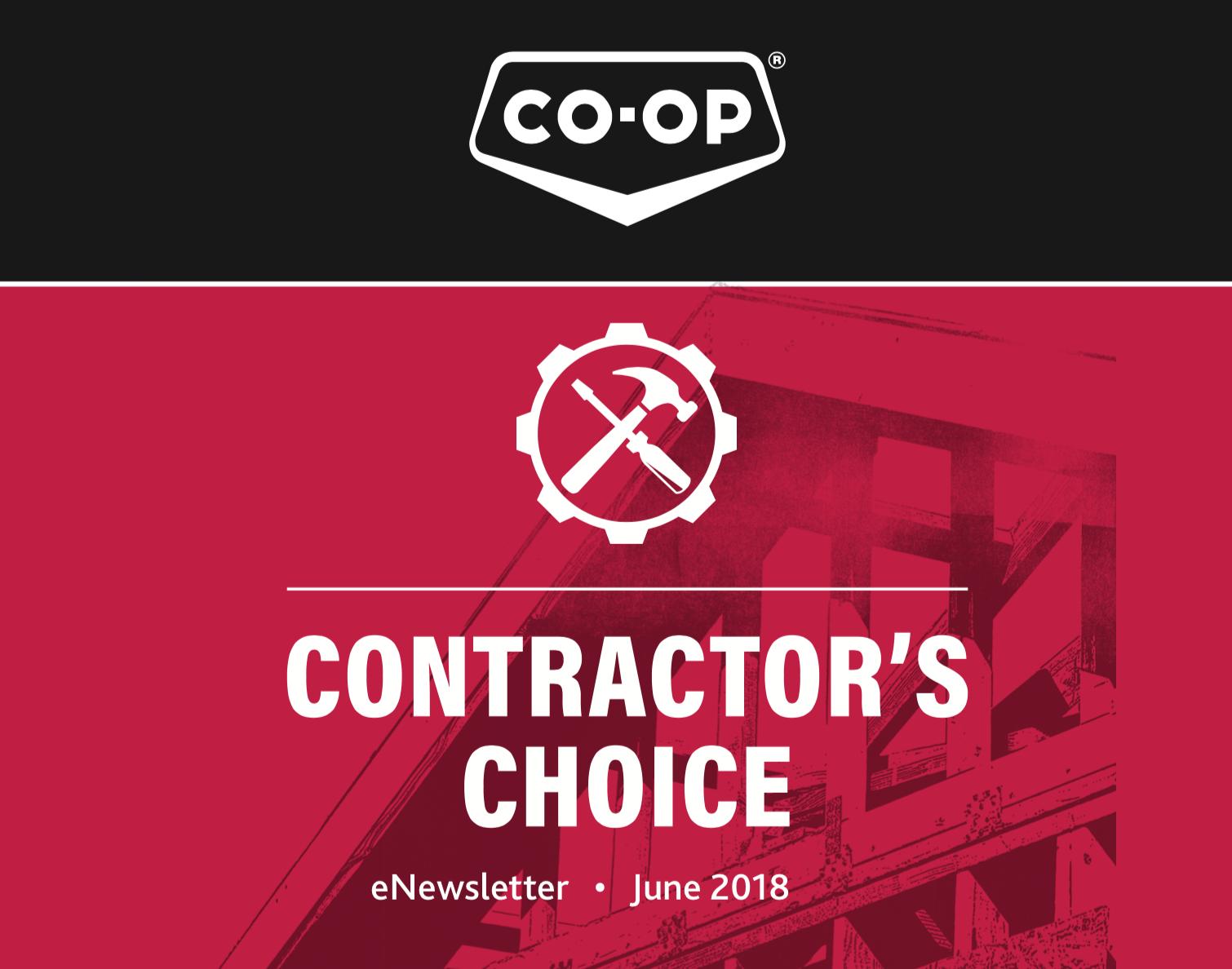 CO-OP eNewsletter - June 2018 Issue