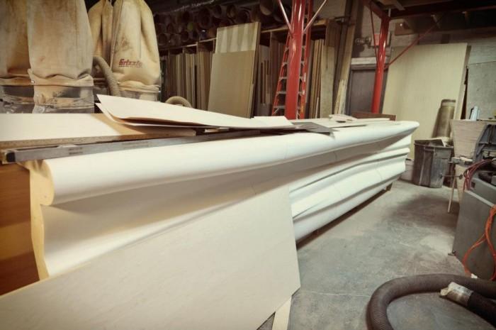Fabrication process | Bar counter
