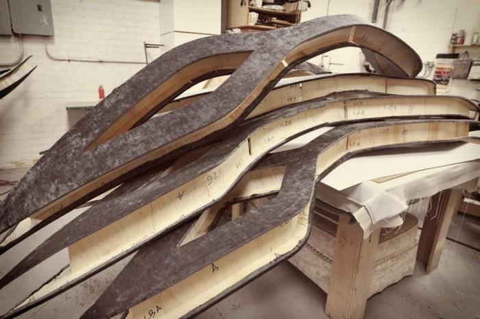 Fabrication process | Light fixtures