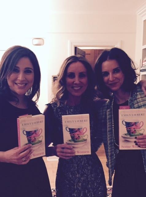 Brenda Janowitz, Emily Leibert, and me.