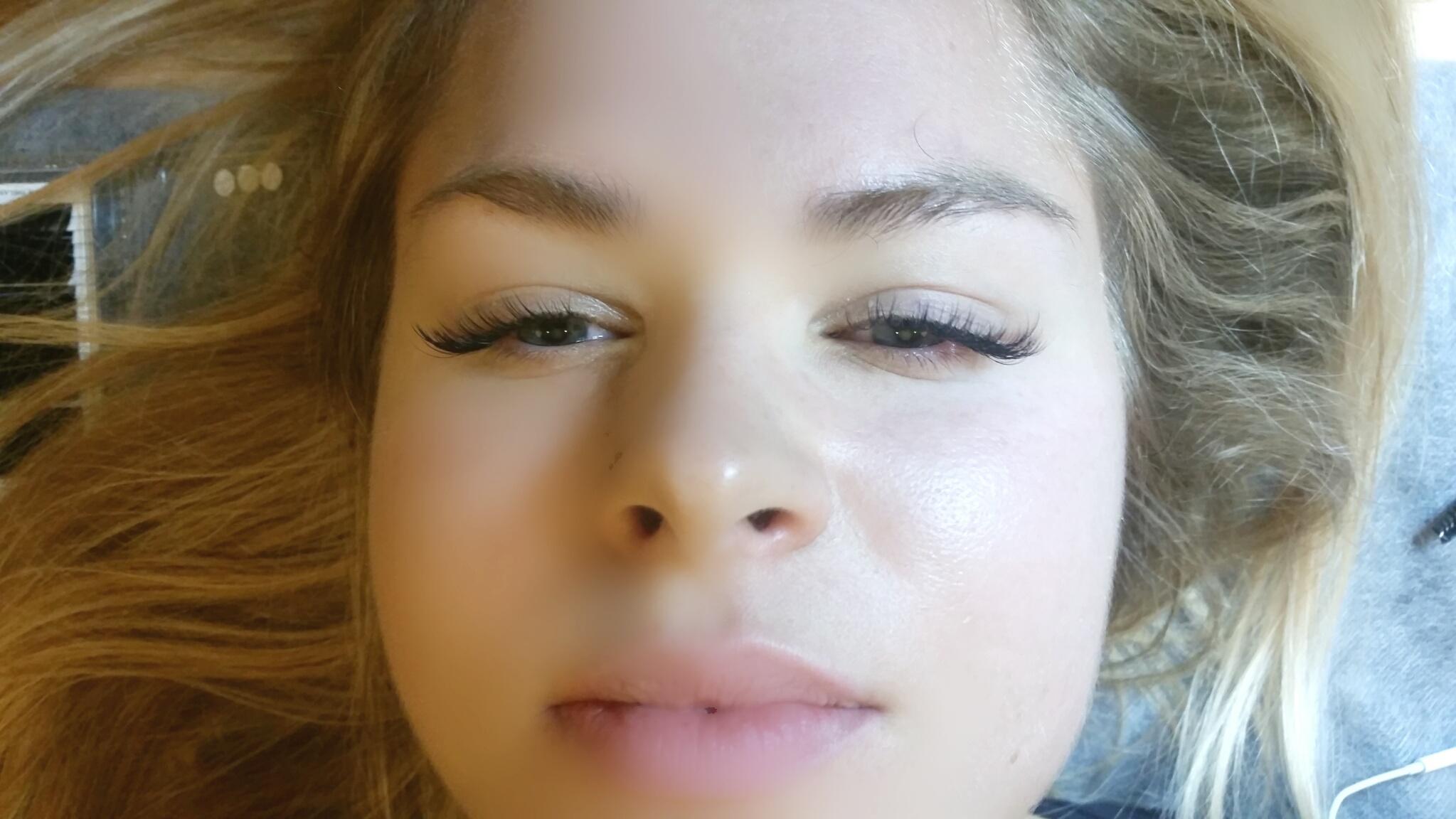 Volume 3D eyelash extensions White Plains NY