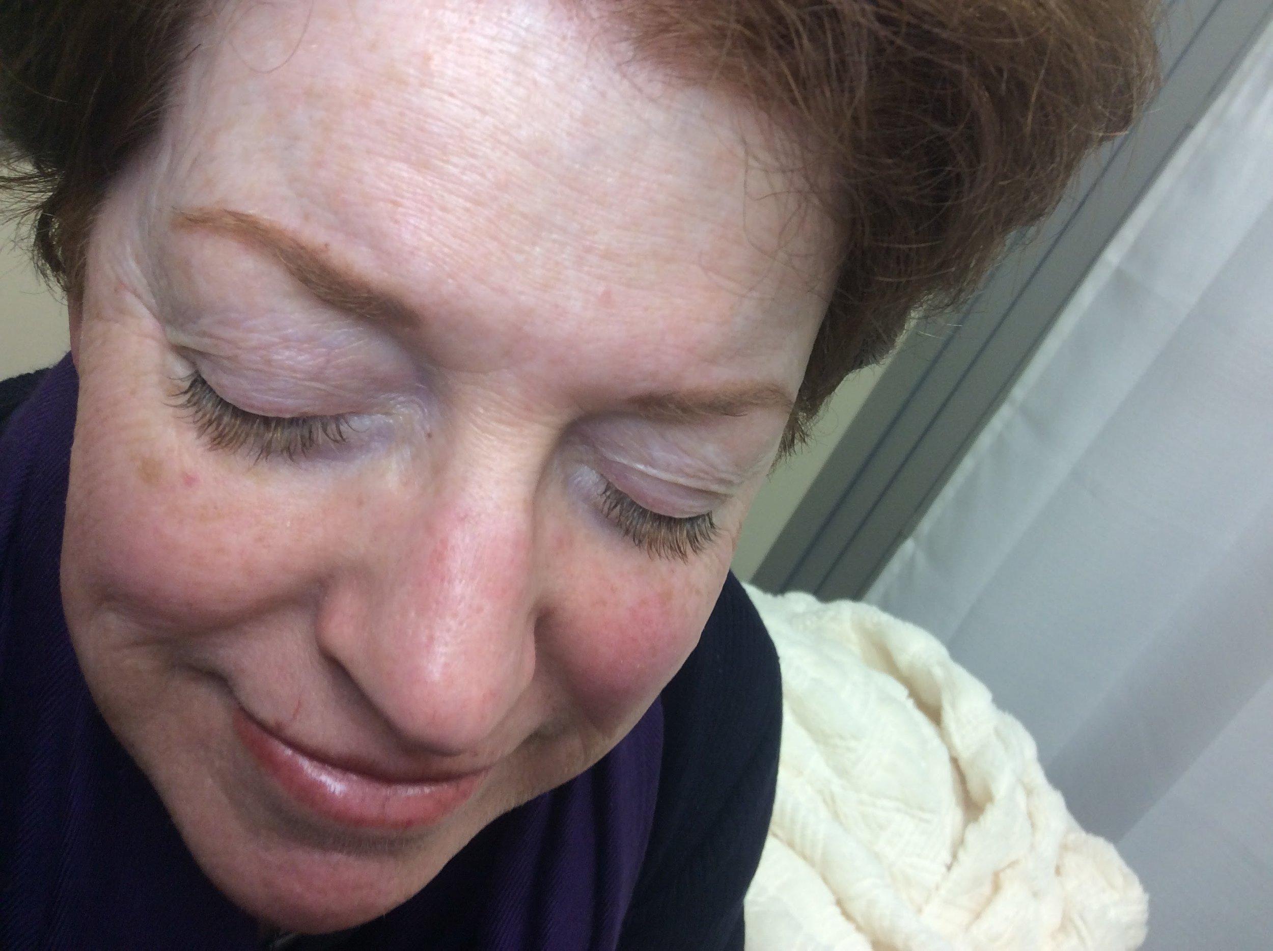 eyebrow tint eyelash extensions white plains NY