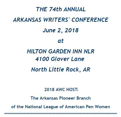 Arkansas Writers Conference.JPG