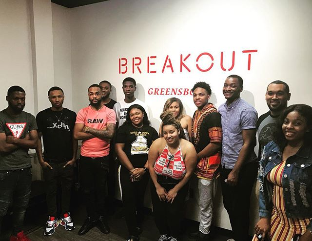 @breakoutgames Some of us made it out, others didn't, but we all had a good time breaking out this past week! Can't wait to breakout from school and be sitting at the beach! @ncat_co #bustingoutofthisjoint #summerplans #classesareover #letthejourneybegin