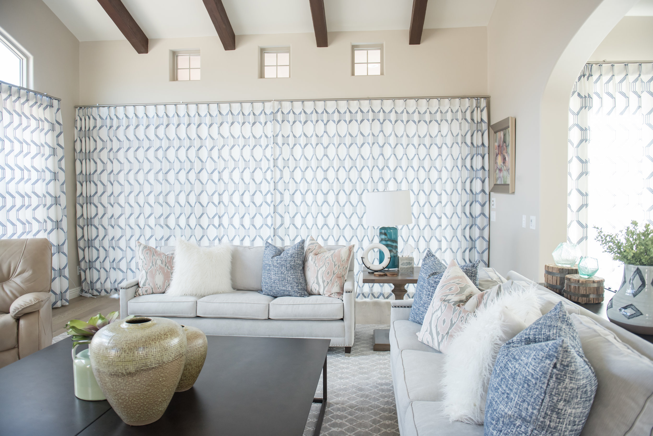 Custom Window Treatments, Cushions, Pillows, and so much more by Window to Design.