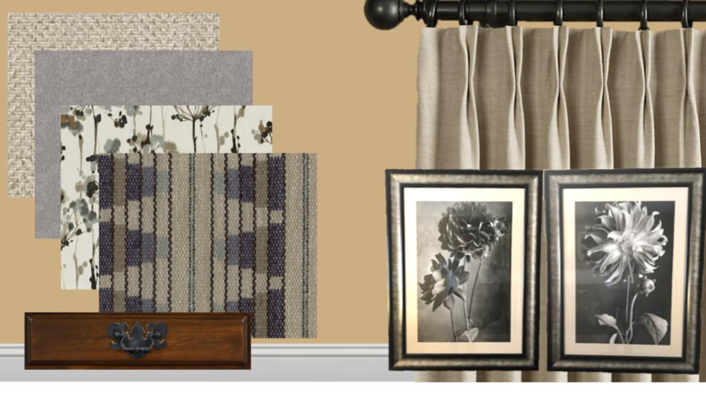 traditional modern farmhouse e-design online interior design | Michael Helwig Interiors |