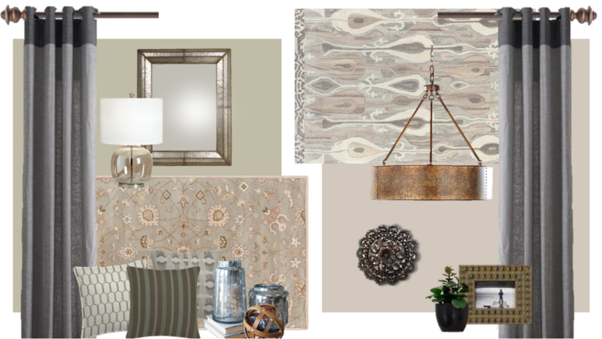 farmhouse modern family and dining room combination e-design online interior design Michael Helwig Interiors.png