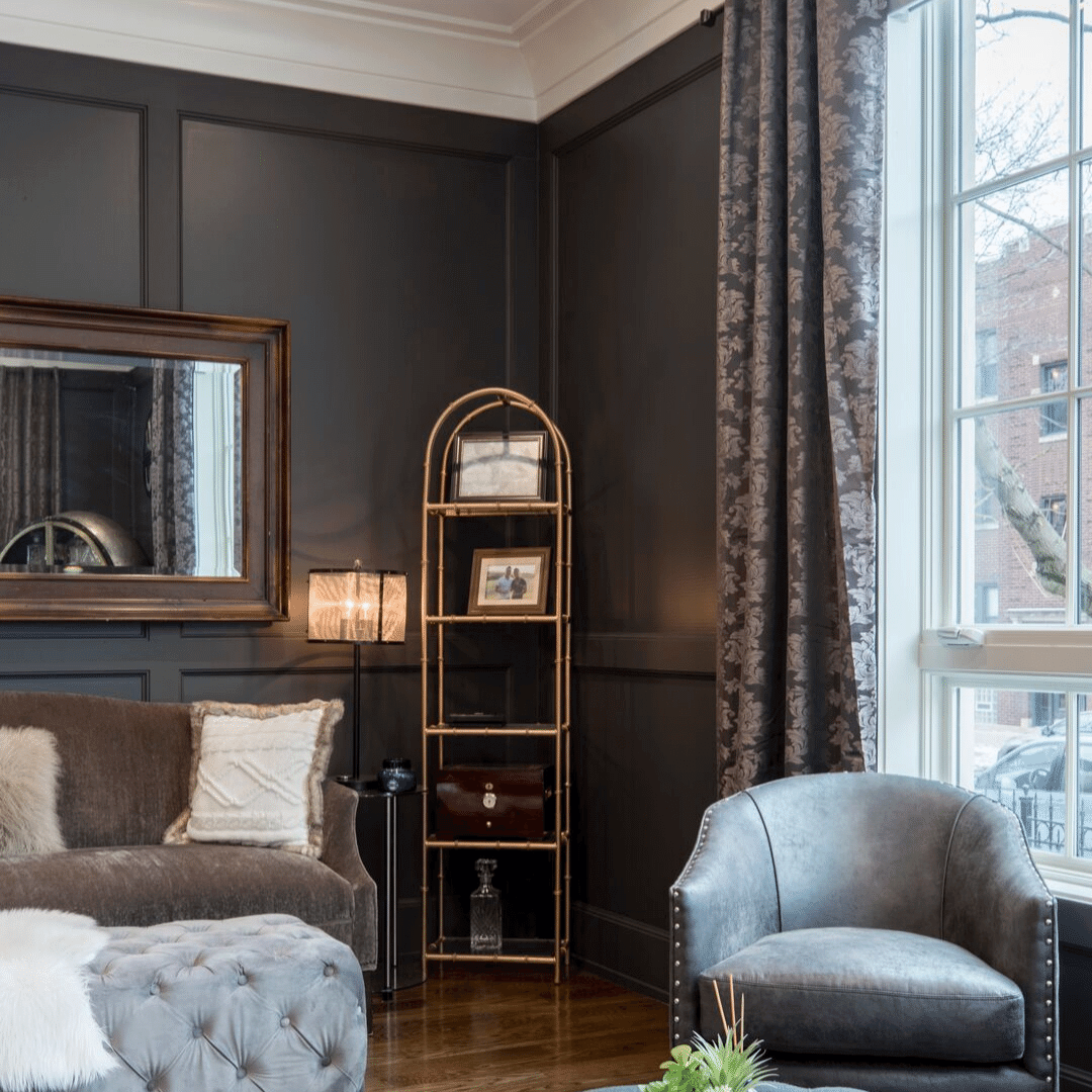 Why Dark Paint Color Can Make Your Small Room Feel Bigger Michael Helwig Interiors