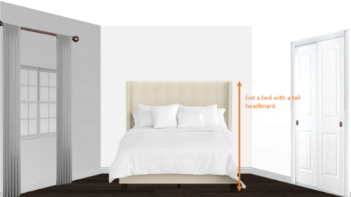 Stressed Out Over A Queen Bed In A 10 X 10 Bedroom Here S 8 Hacks To Help Michael Helwig Interiors