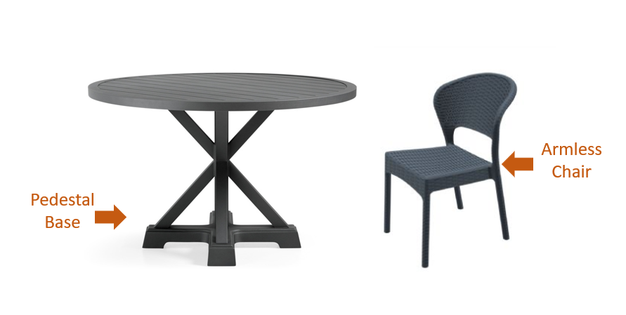 Why A Round Table And 6 Chairs Is, Round Patio Tables