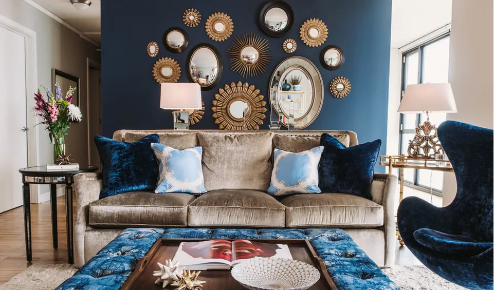 With Mirrors In A Small Living Room, Living Room Mirror Decorating Ideas