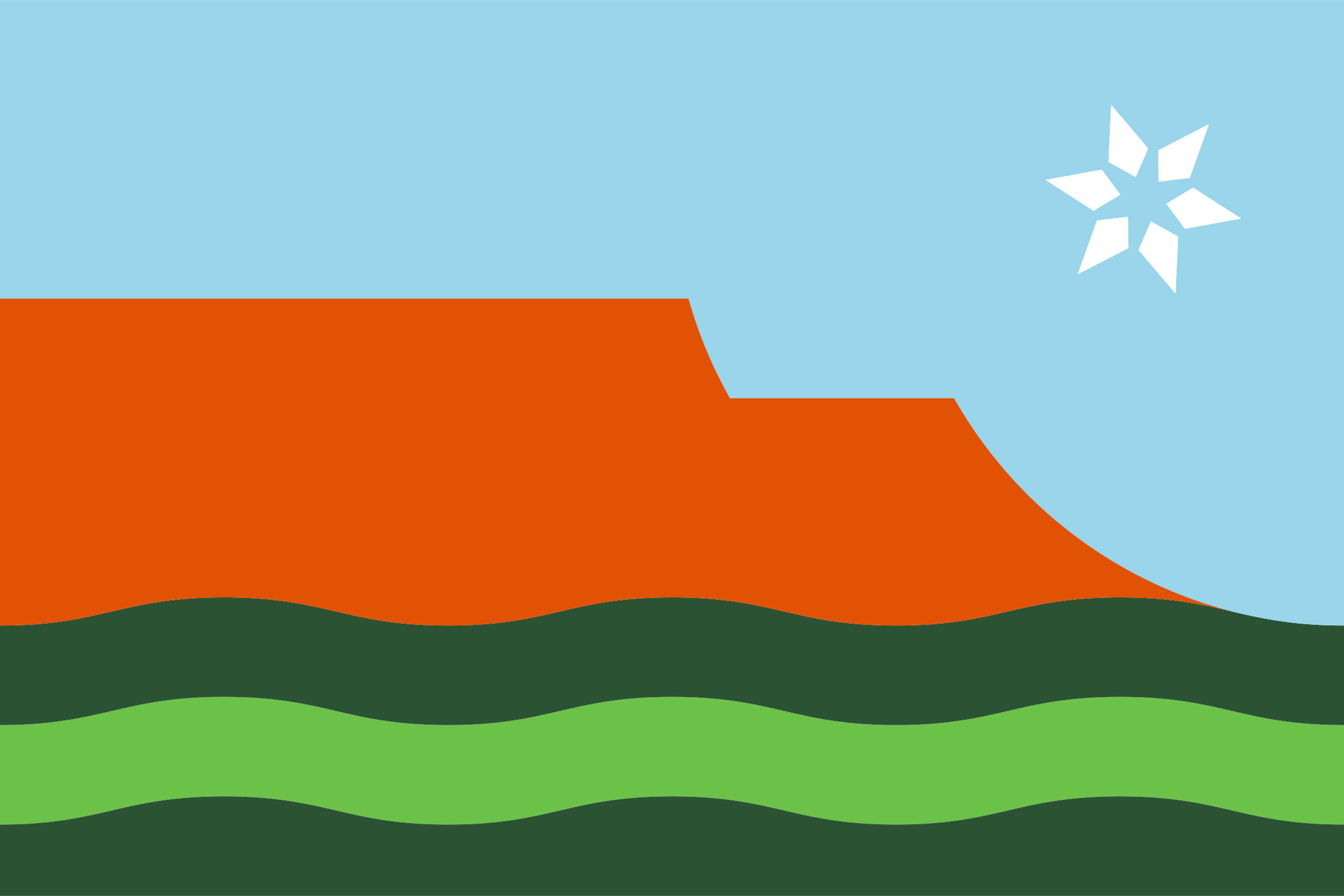The Green River Community Flag
