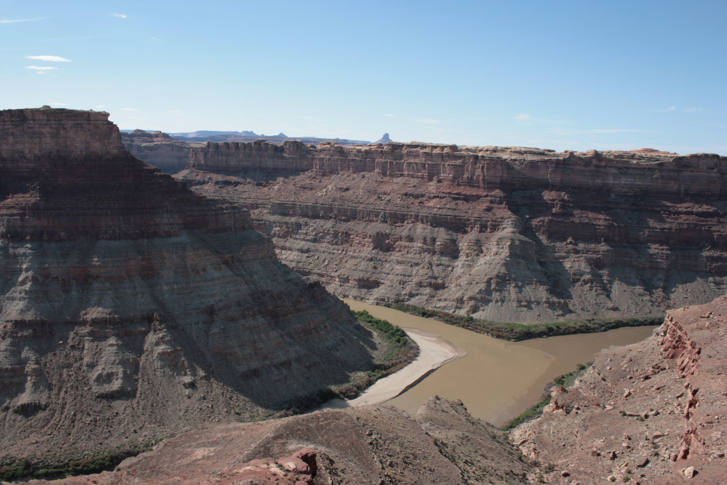 The confluence of the Green and Colorado Rivers, 2011