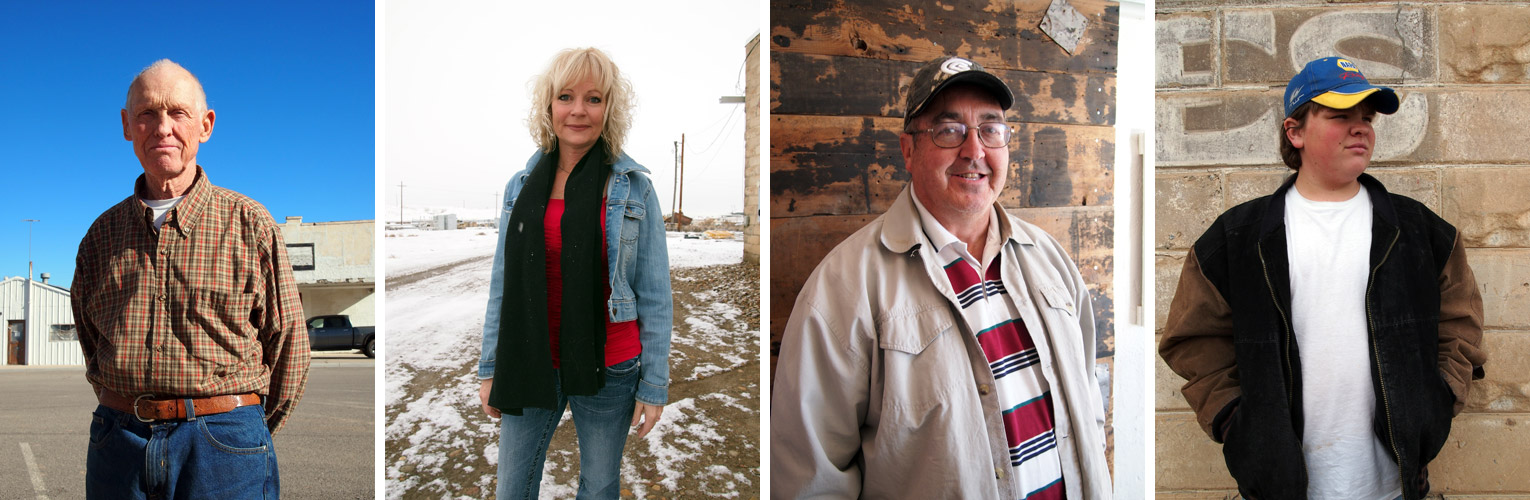 "A few of Green River's ""Most Interesting People,"" who will be featured in the upcoming Green River Magazine: Glenn Baxter, Lisa Hackett, Dale Richards, and Orrin McKayle."