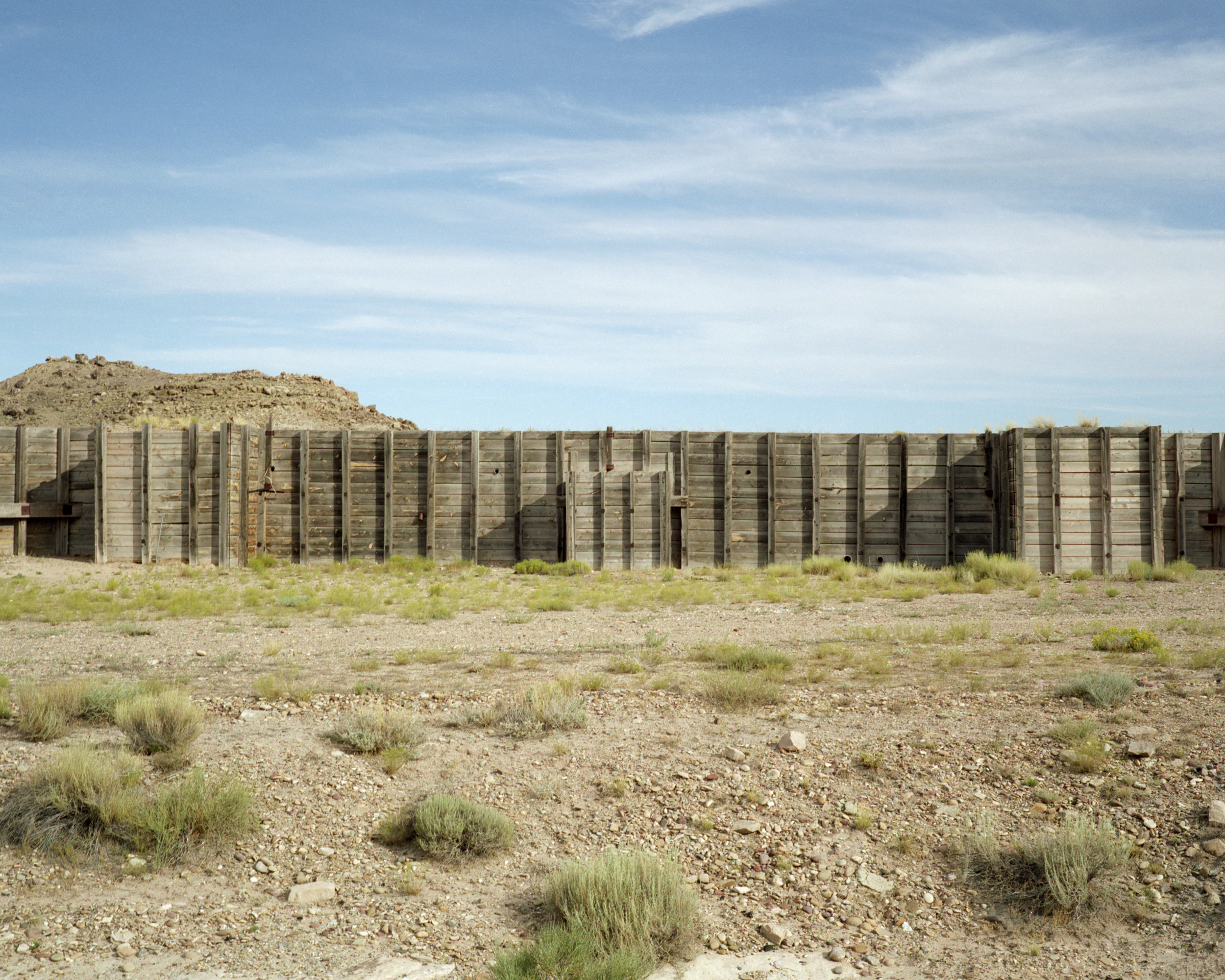 The bunker at a former missile base south of Green River.
