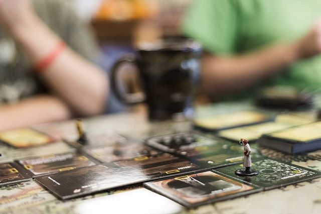 Bored with 'the game?' Try a board game! Grounded coffee - 2pm until close - Saturday.  See you there!  #madisonal #huntsvilleal #rocketcity #boardgames #ourvalleyevents #coffeeshop