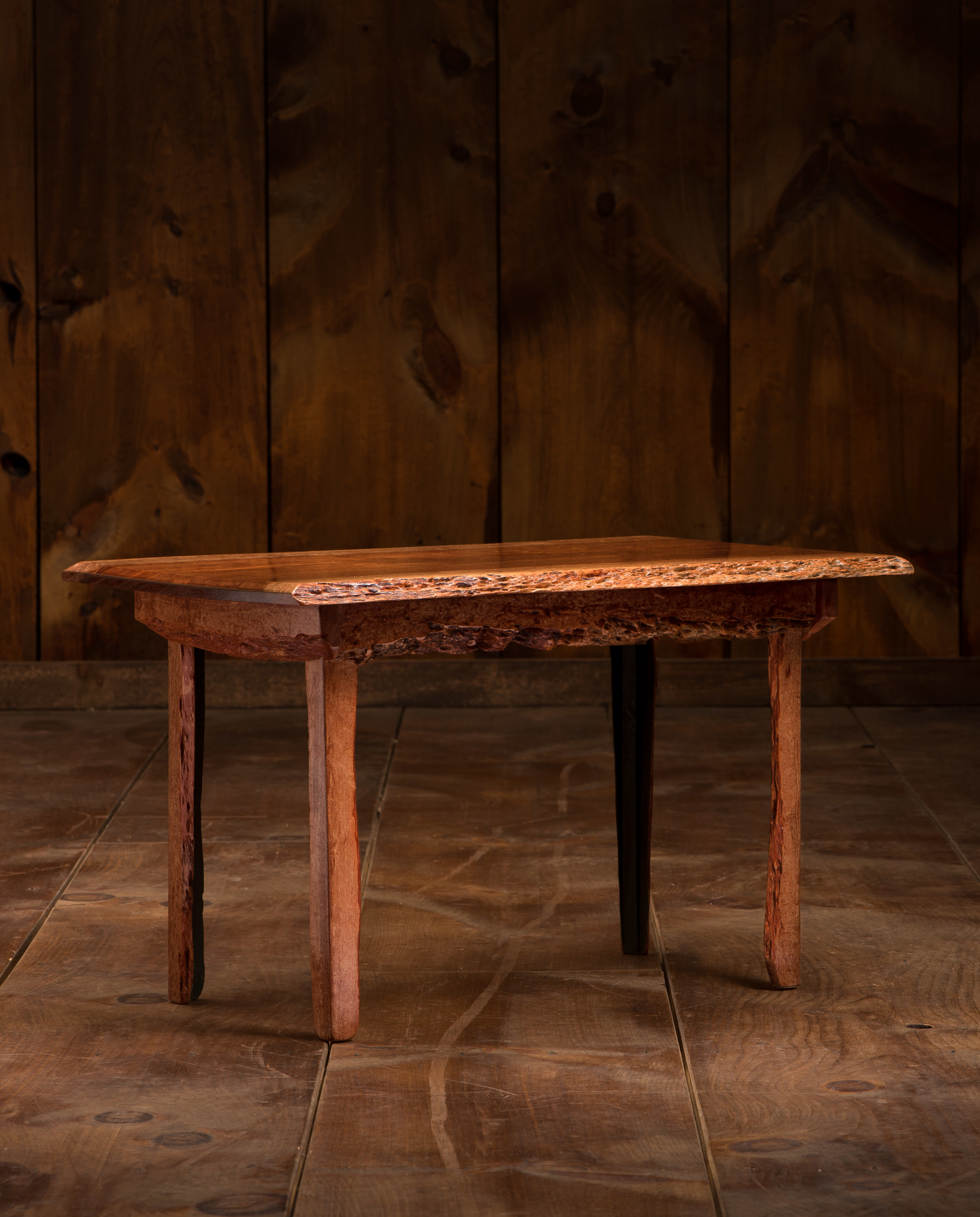 Patagonian Rosewood Side Table