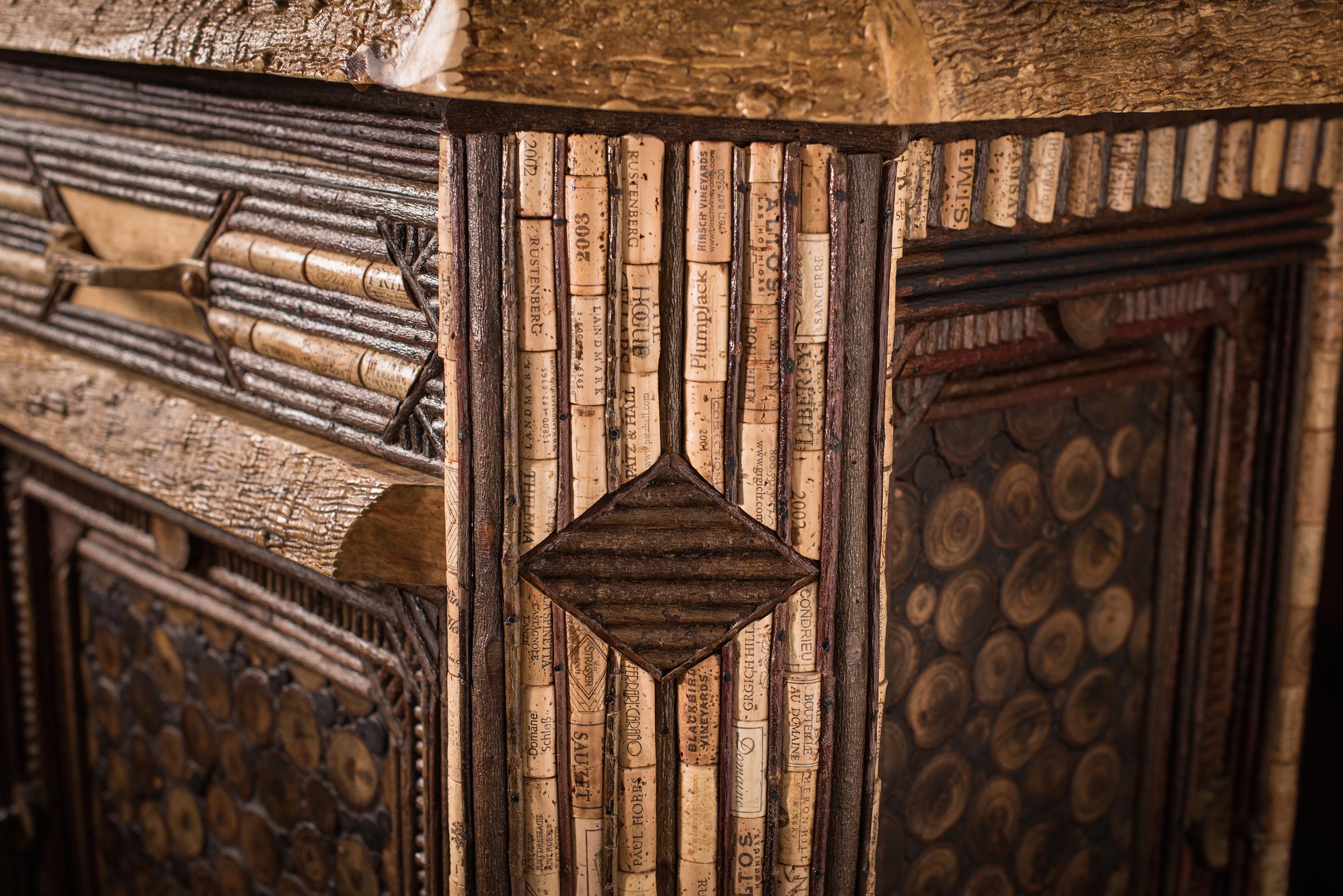 Corrugated Edge Maple Sideboard