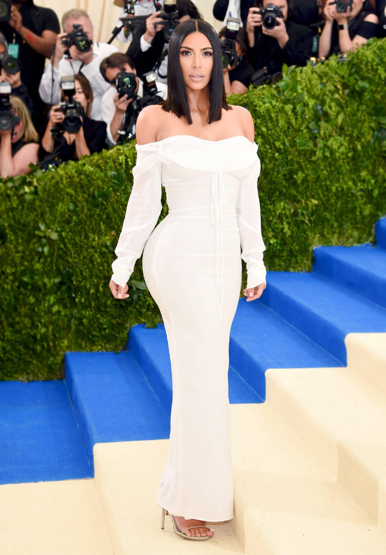 Kim Kardashian in a Vivienne Westwood Dress