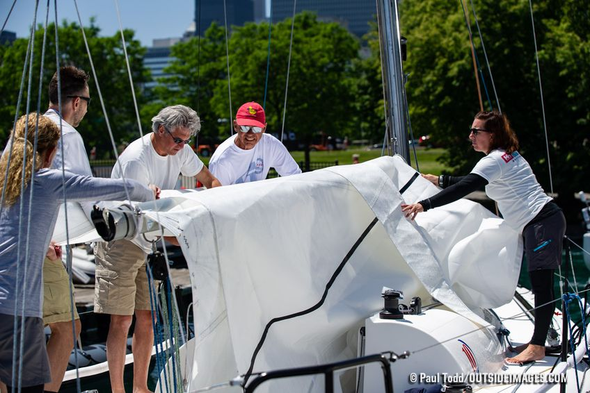 Diamond Girl at the 2019 Chicago NOOD Regatta