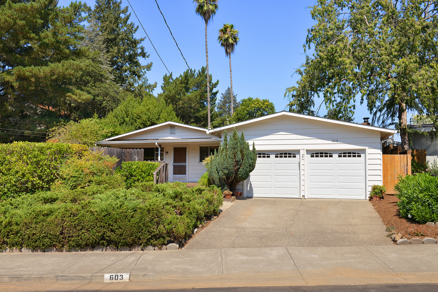 A rare find! Not on the market since 1979, this single story, 3 bedroom and 2 bathroom home offers location and lots of potential. Situated on a large corner lot, amenities include a 2-car garage, covered patio, and family room with fireplace. Doll up this diamond in the rough and make it your own!