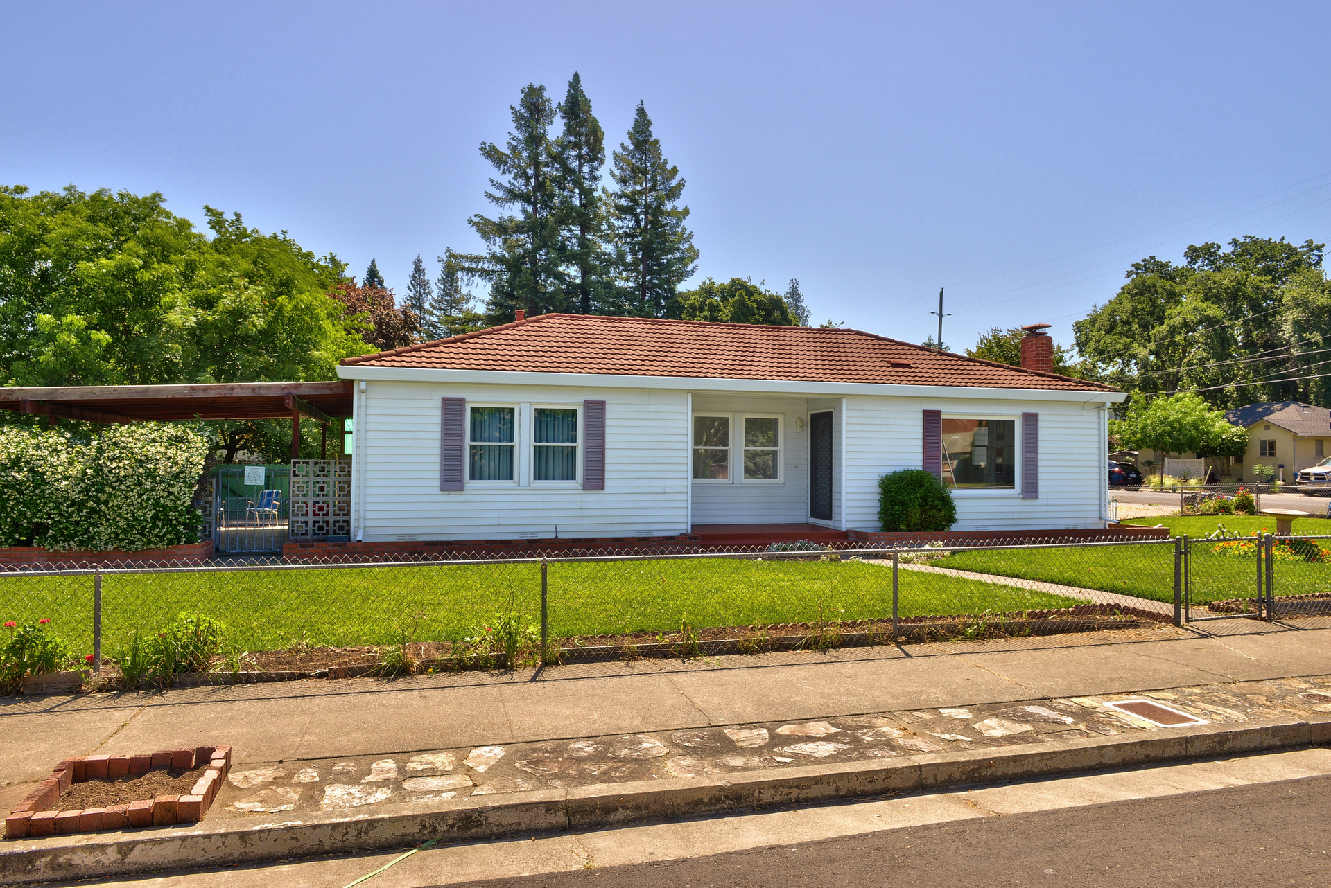 Built in 1950 and first time on the market! This quaint McDonald district home nestled on a very endearing street, offers 2bedrooms/1bathroom on a corner lot. This is truly a rare opportunity to own a piece of history in one of the most sought after neighborhoods in Santa Rosa!