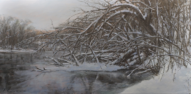 SPIRIT RIVER/ORION 24X48  $3000 ART RESOURCES GALLERY, MINNEAPOLIS