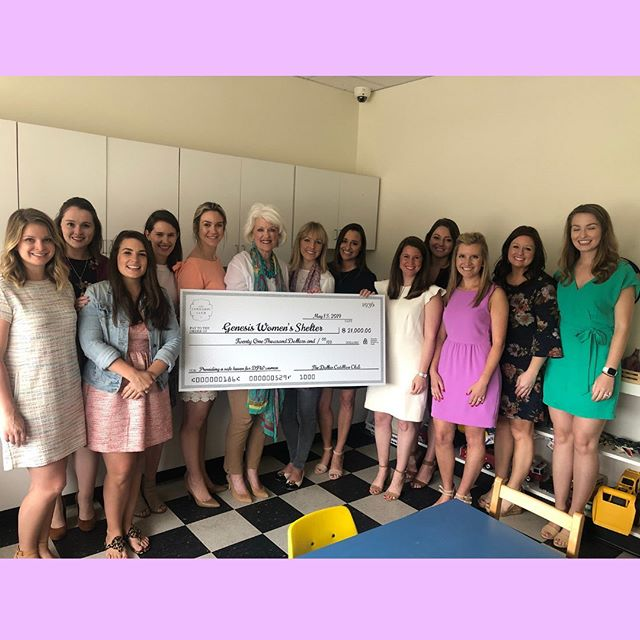 "On behalf of the 2018-2019 Board of Directors, Gala Committee and the entire Club, we are elated to share that we raised $21,000 for @genesiswomensshelter, a record-breaking donation for our organization. This year's efforts, spearheaded by @kelsgeorge11, @liz.link and @jennymcarlisle, were immensely successful and we are so thankful for every single person who had a hand in helping us have our best year yet. It's easy to join our organization for the events, the fun, the friends and the happy hours, but giving back to other women is truly our ""why."" Thank you again from the bottom of our hearts 💞"