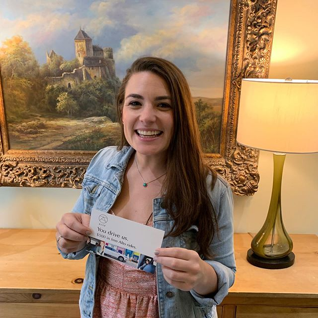 Better late than never! Congrats to @briediculouz for winning our #marchmadness competition! 🏀🏆 She won a gift card for @ridealto so she'll be cruising around #dallas in style 🚗 #beepbeep