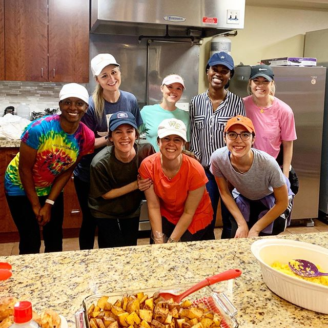 Wakey wakey 🍳 We had the pleasure of cooking up a bountiful breakfast spread at @genesiswomensshelter this weekend! #yum #eeeeeats