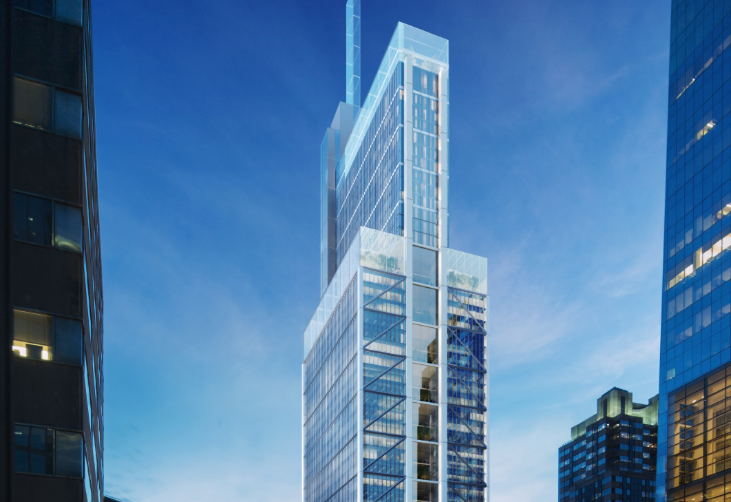 Comcast Tower Curtain Wall Replacement