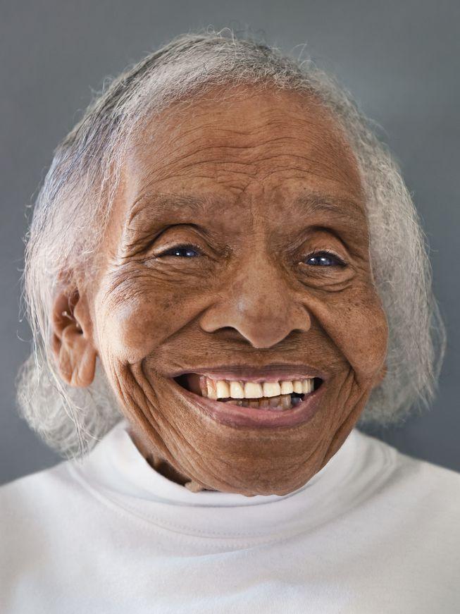 Olivia Hooker from White Plains, New York (Photo: 'Aging Gracefully' by Karsten Thormaehlen/Chronicle Books 2017)