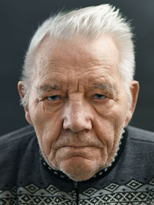 Sigurgeir Jonsson from Iceland (Photo: 'Aging Gracefully' by Karsten Thormaehlen/Chronicle Books 2017)
