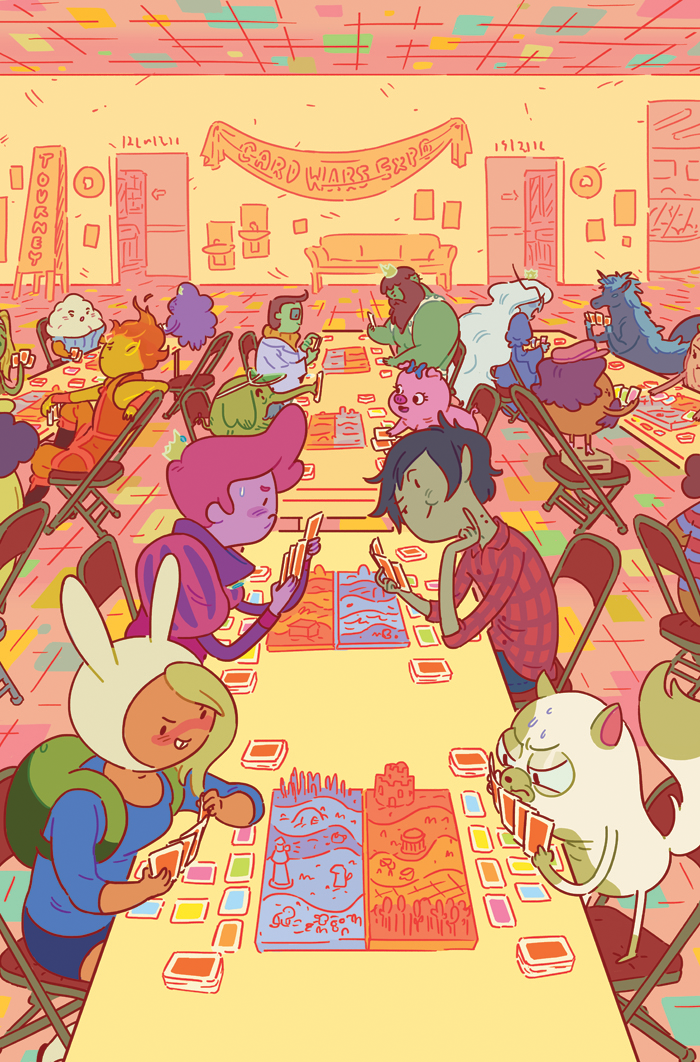 A cover variant for Boom's Adventure Time comic series