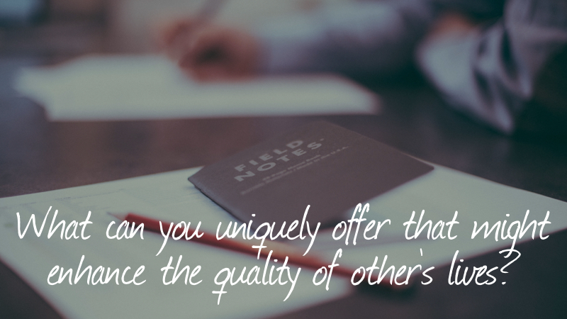 Selfish-What Can You Uniquely Offer?
