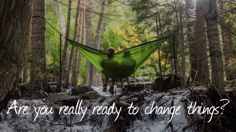 Problem 3 - Are you really ready to change things?