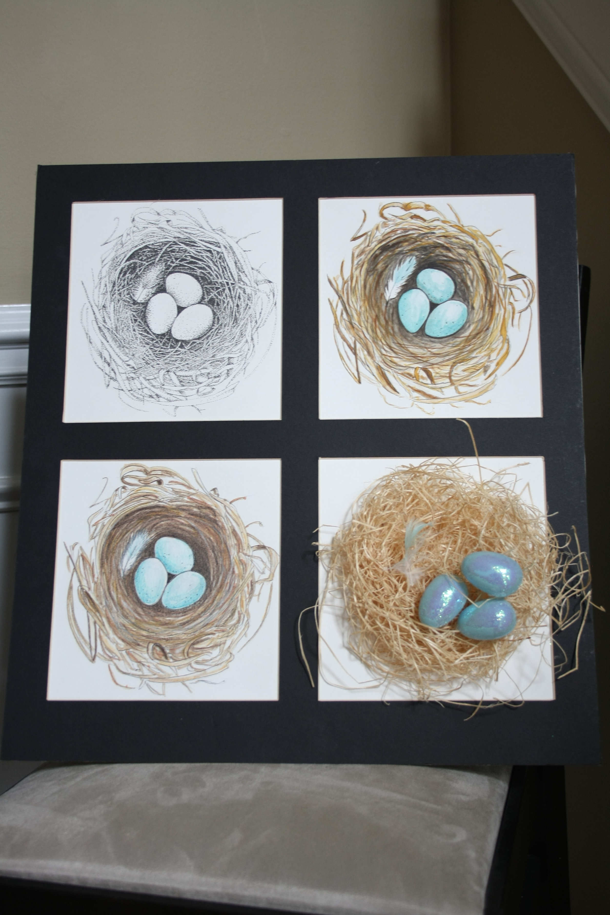 How To Make Your Own Photo Mats Interiors By Sarah Langtry