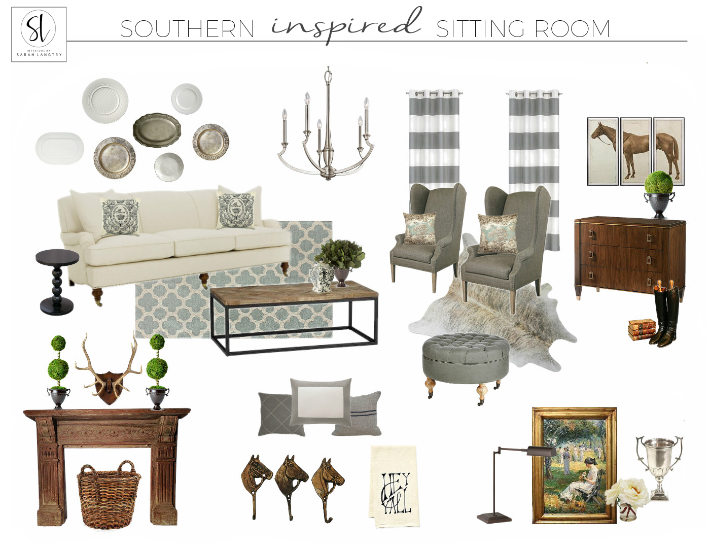 Southern Charm Sitting Room