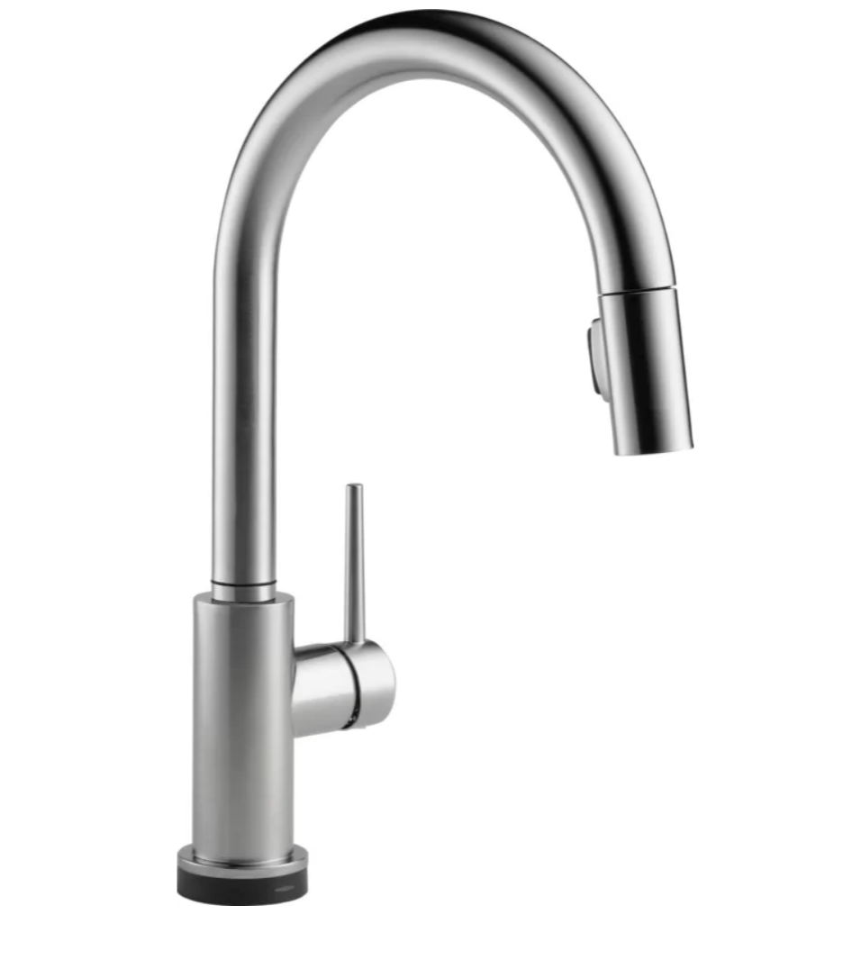 Trinsic Touch20 Pull-Down faucet, Arctic Stainless