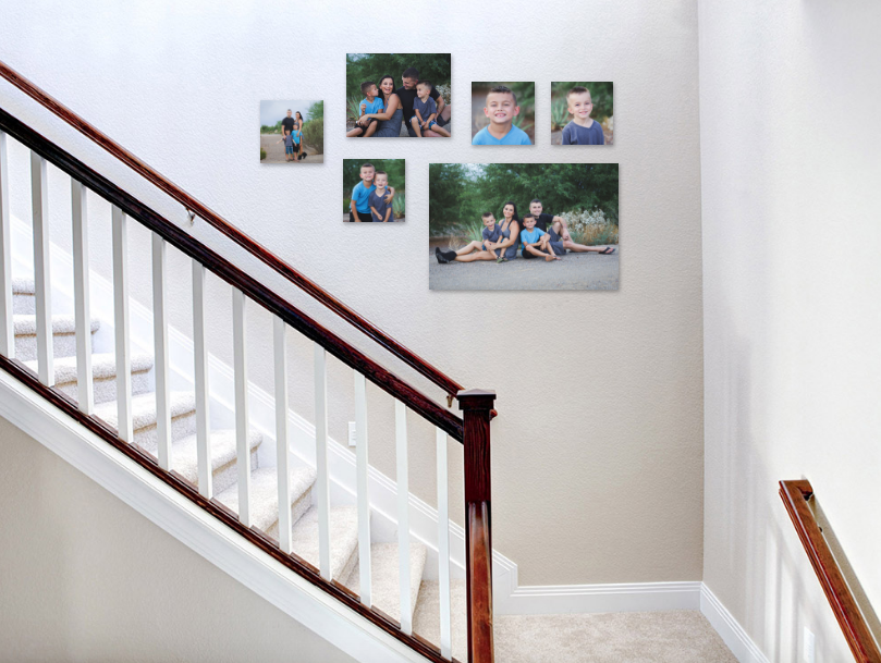 Staircase Canvas Gallery to Showcase just a glimpse of a full session!