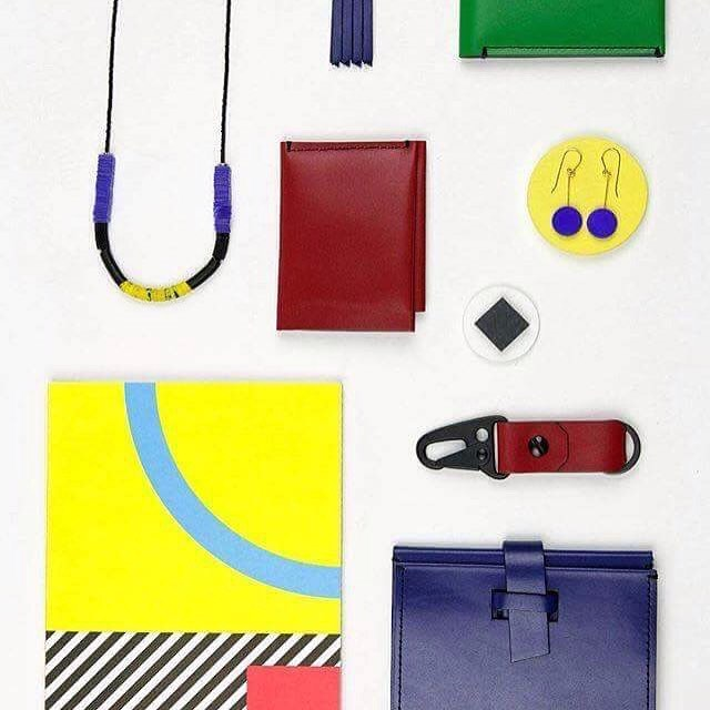 My wallets and keychains (pictured with other wonderful product), now available at re-souL in Ballard!