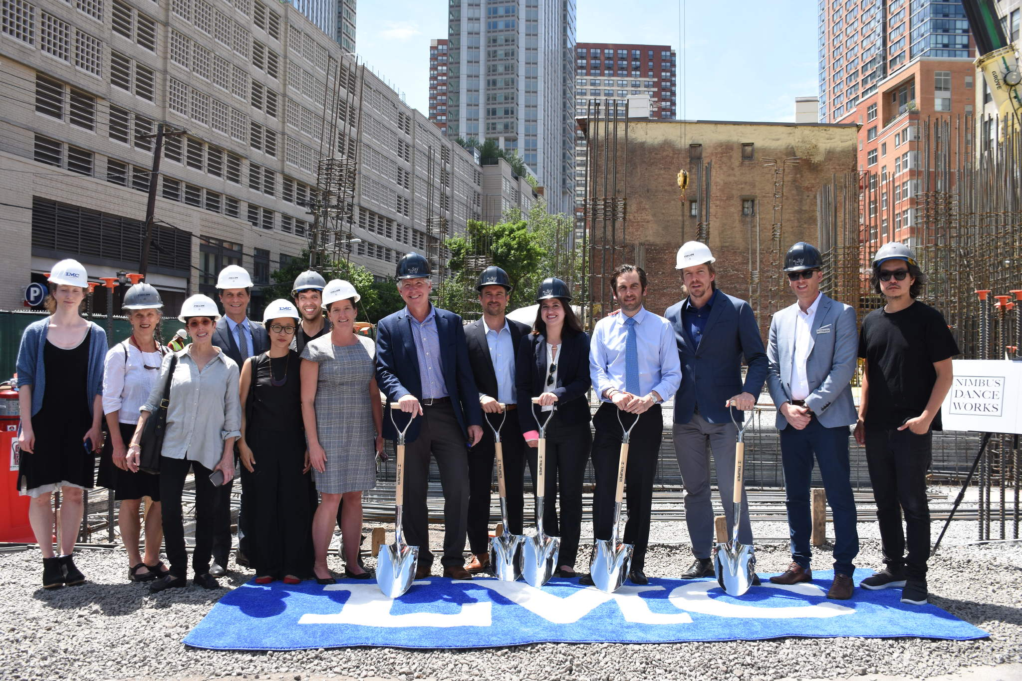 At the groundbreaking of 321 Warren Street. Photo credit: Pat Byrne
