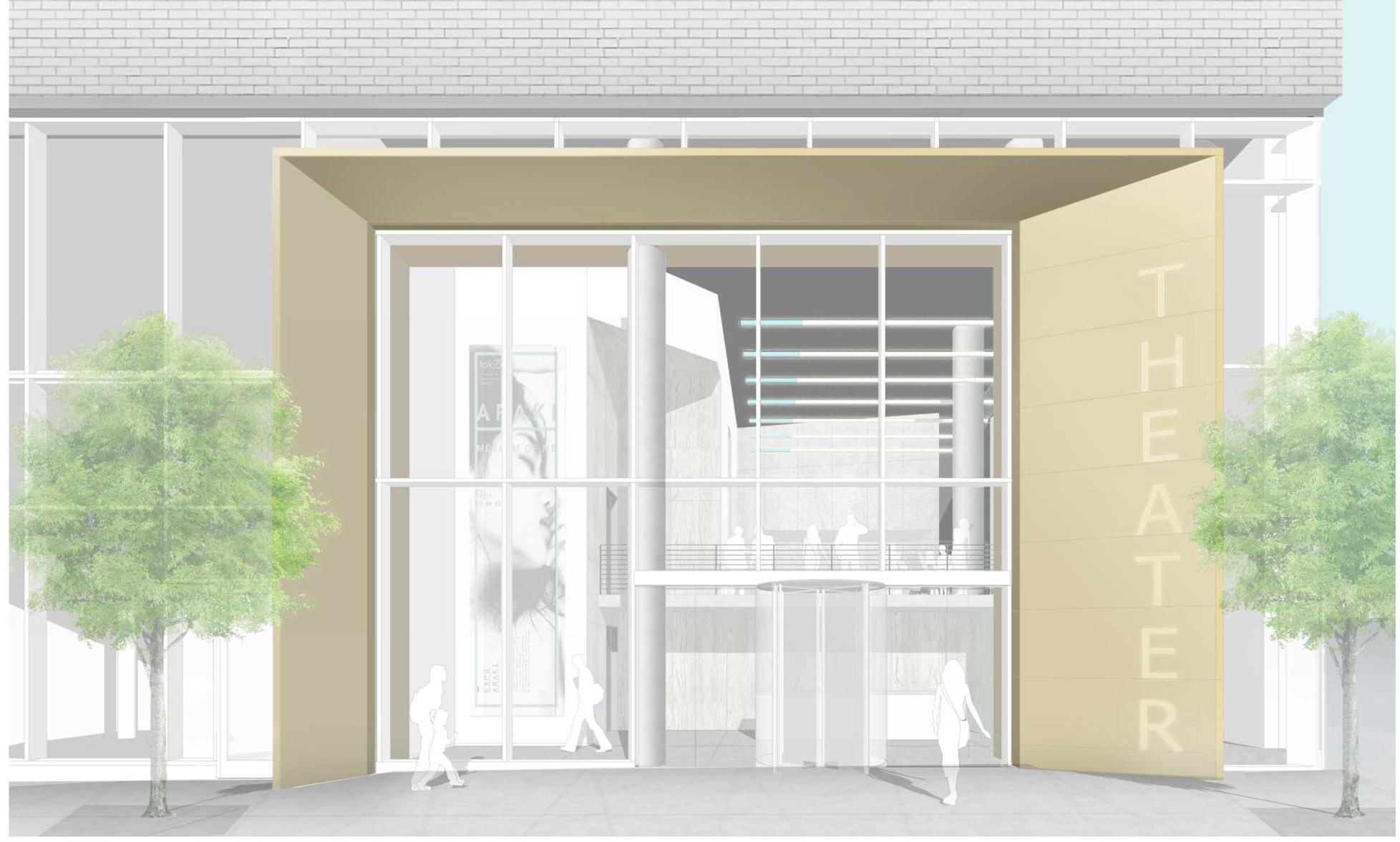 Nimbus Arts Center Entrance  FOGARTY FINGER architecture | interiors
