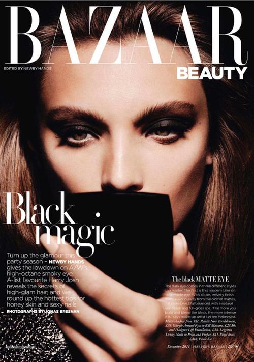 Harper S Bazaar Beauty 2 Julia Brenard