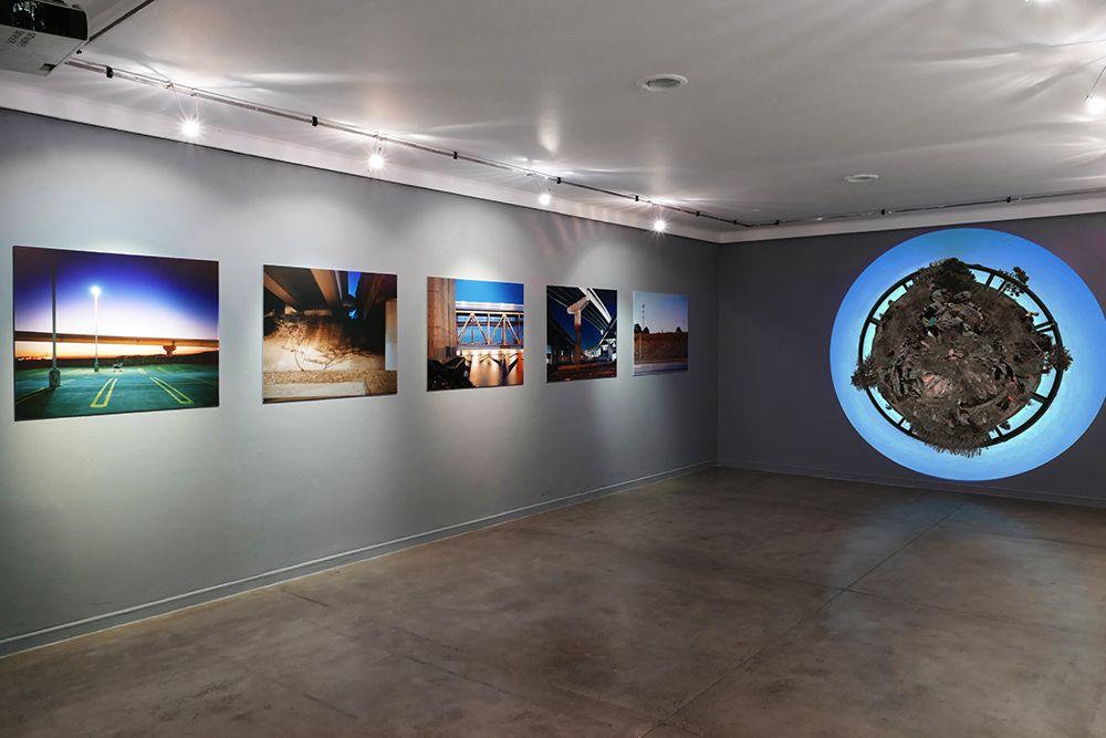 Exhibition at the Centro Colombo Americano in Medellin, Colombia