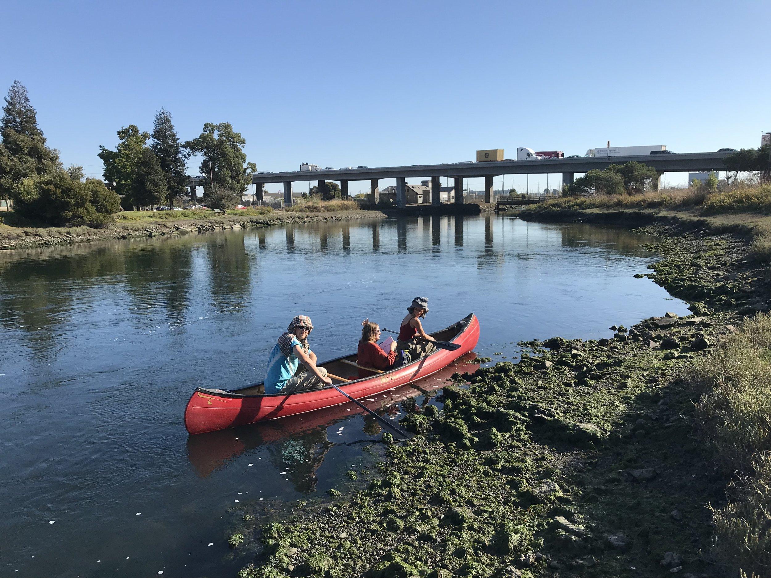 Channeling workshop, Lake Merritt to the Estuary, Oakland, CA