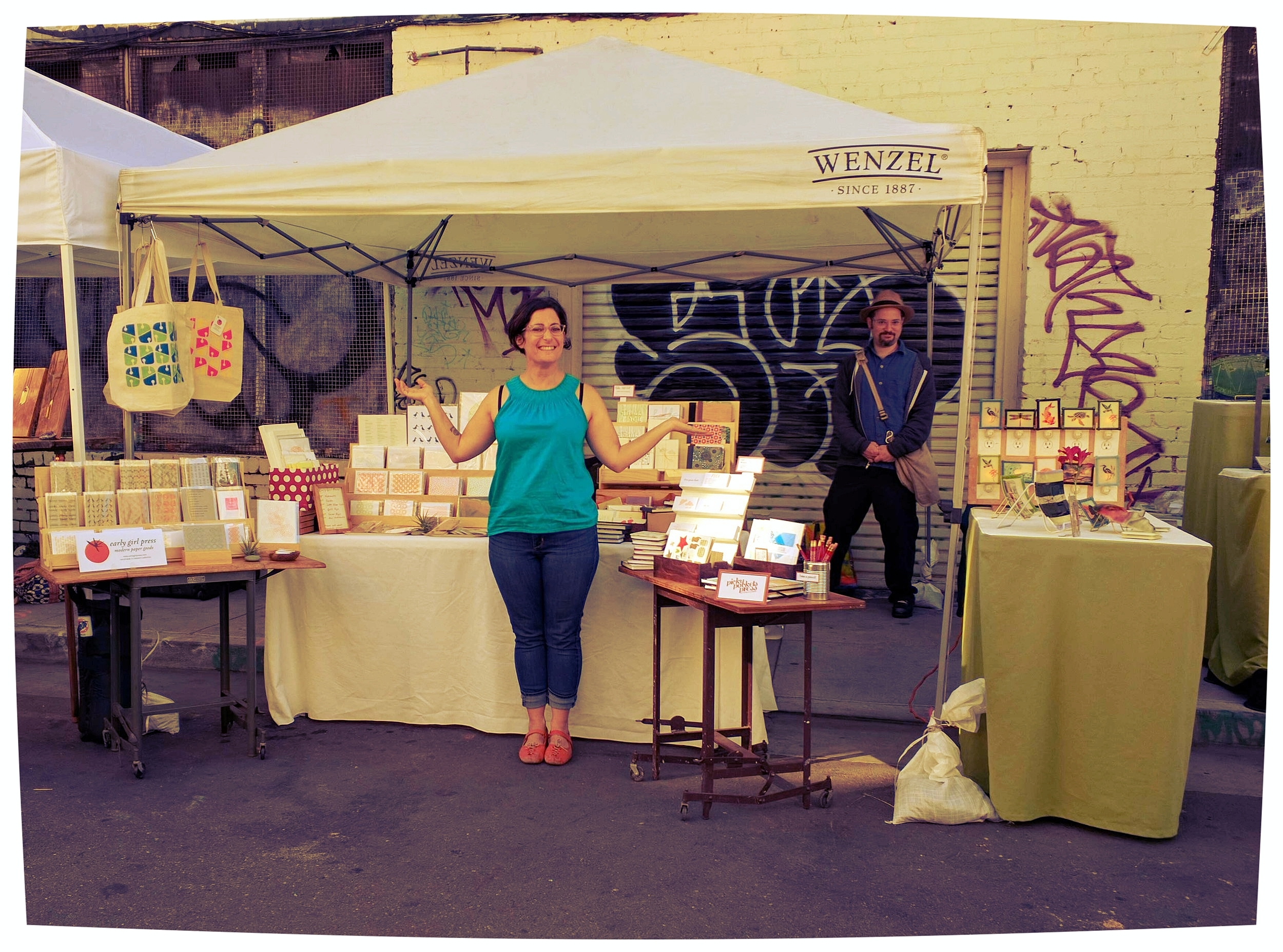 Urban Air Market 2016 with Pickypockets Press