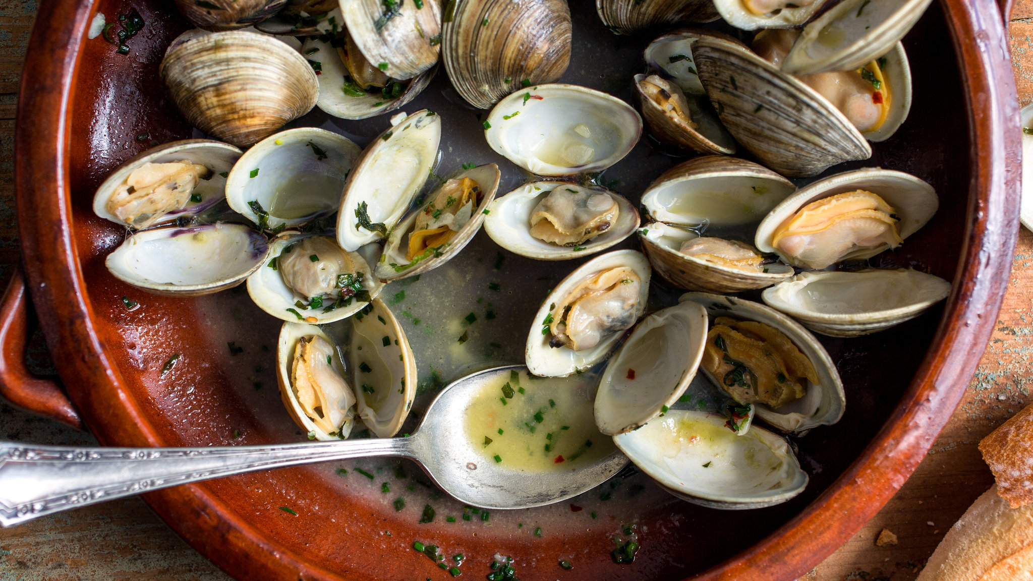 """Starting tonight we are serving steamers on Thursday nights in limited quantities. They are available plain or """"beer and garlic"""" flavor. Get them while they last!"""