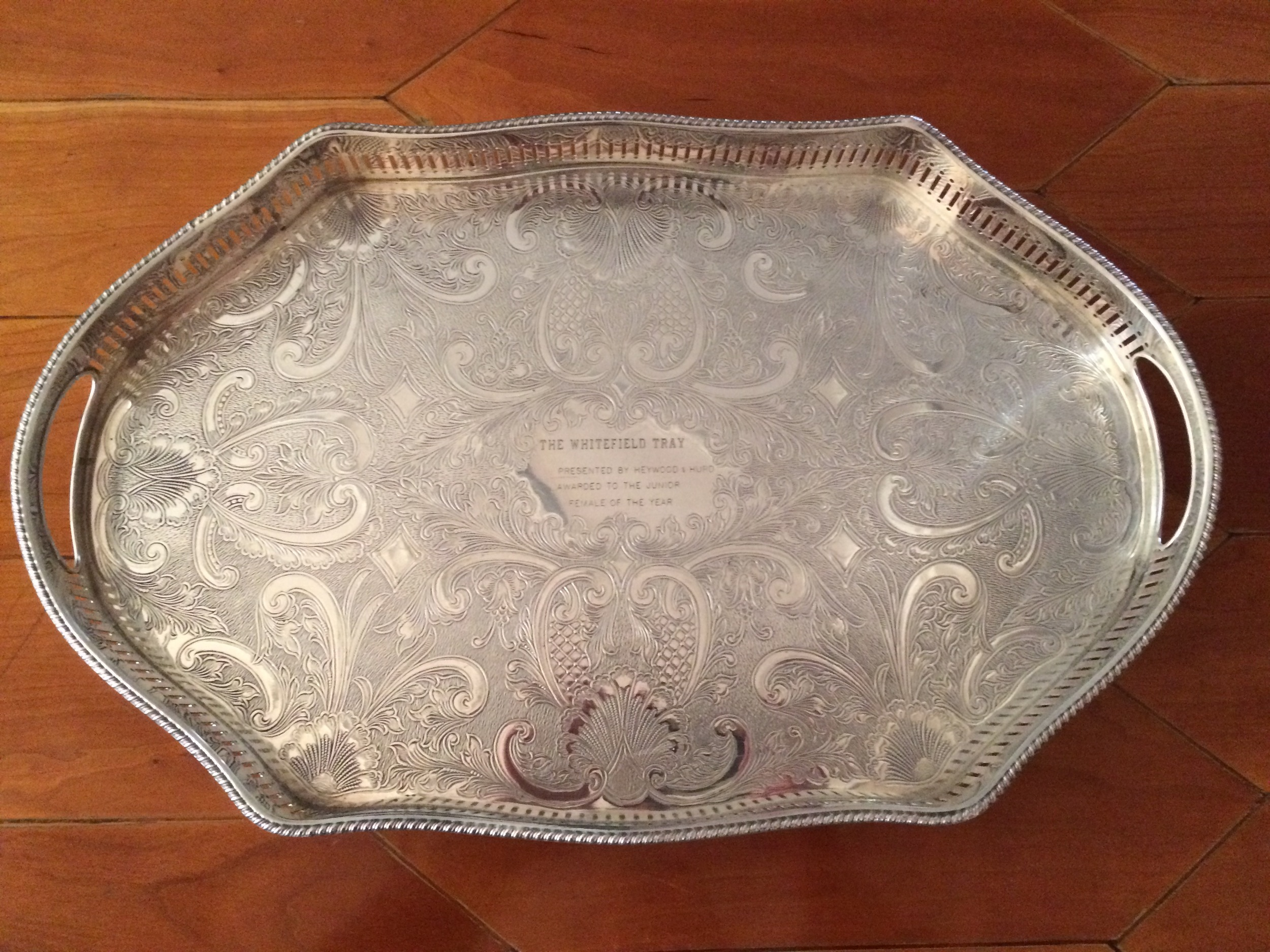 Colleton Marion 27th won The Whitefield Tray in 2015