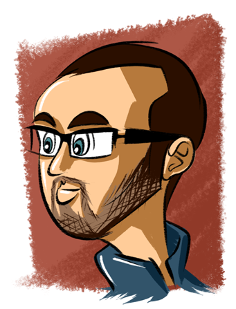 Artist's approximation of Josh Perry